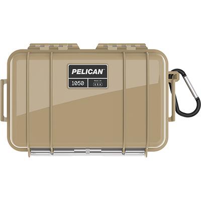 pelican 1050 tan waterproof case