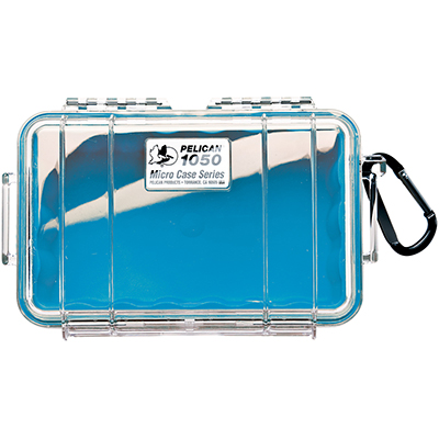 pelican watertight beach blue small case