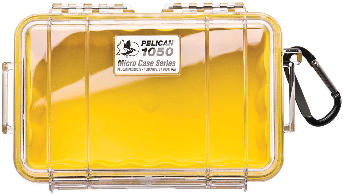 pelican watertight hard yellow micro box