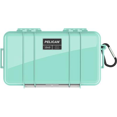 pelican 1060 seafoam waterproof case