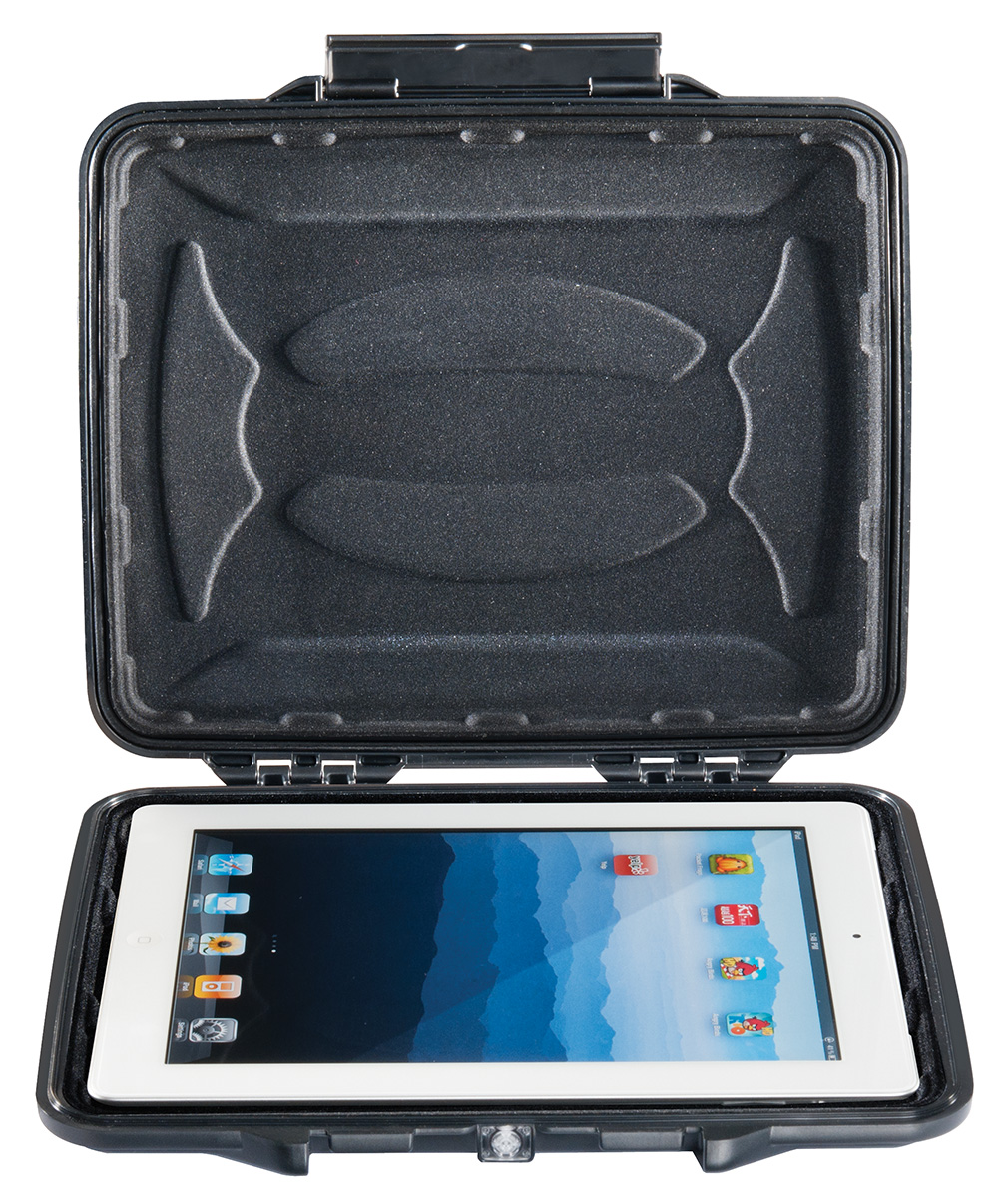 pelican hard waterproof ipad tablet case