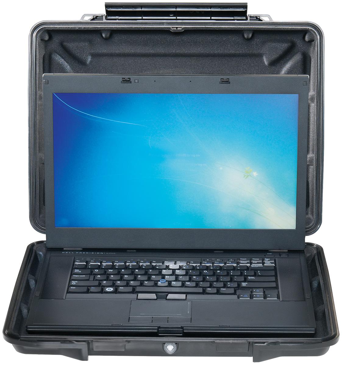 pelican watertight laptop protection case