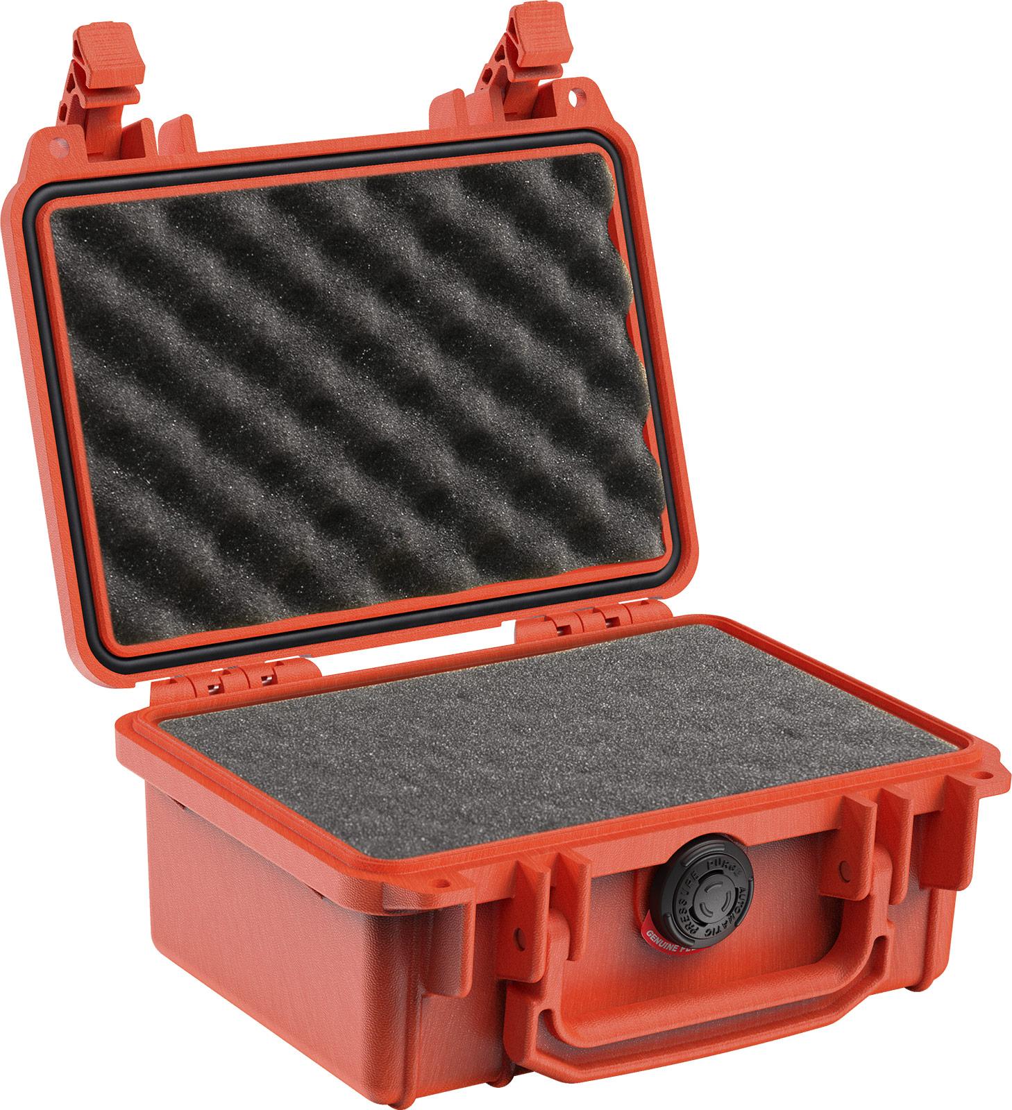 pelican 1120 orange foam gun case