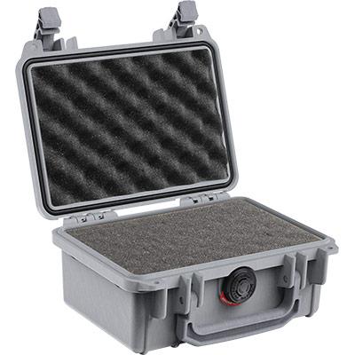 pelican 1120 silver foam pistol case