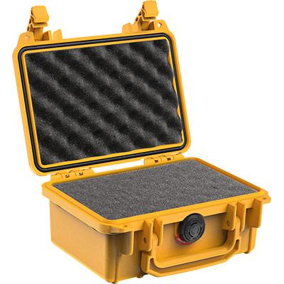 pelican 1120 yellow foam gopro case