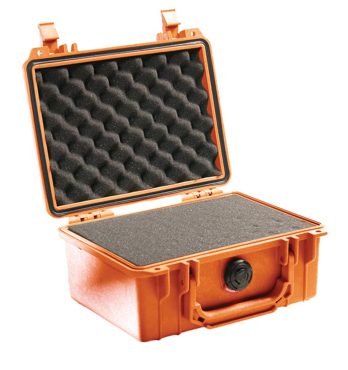 pelican 1150 orange foam dustproof case