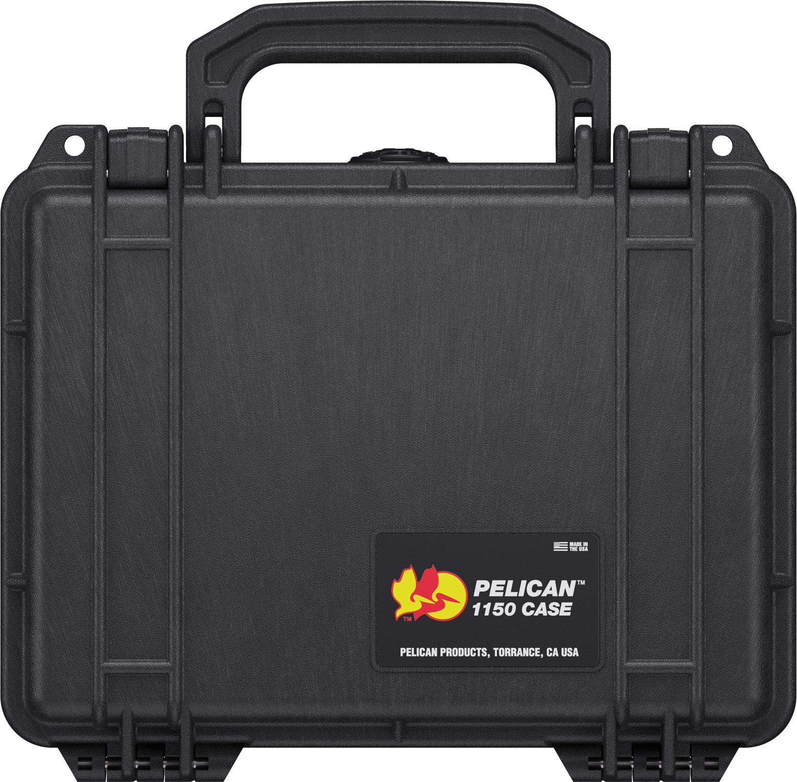 pelican protector 1150 black hard case