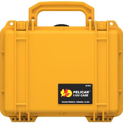pelican protector 1150 yellow hard case