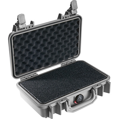pelican 1170 foam silver glock case