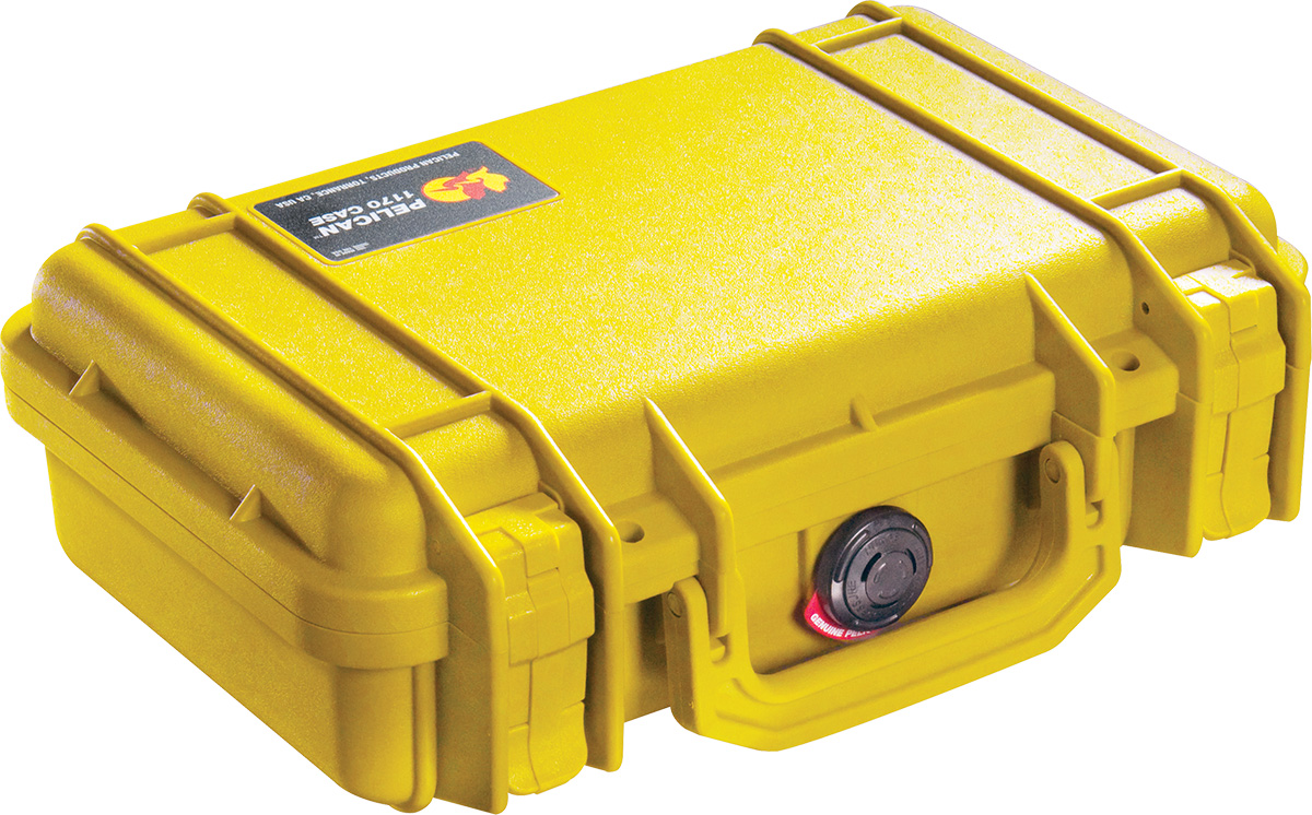 pelican 1170 yellow protector case