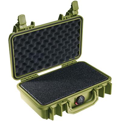 pelican watertight hunting gun pistol case