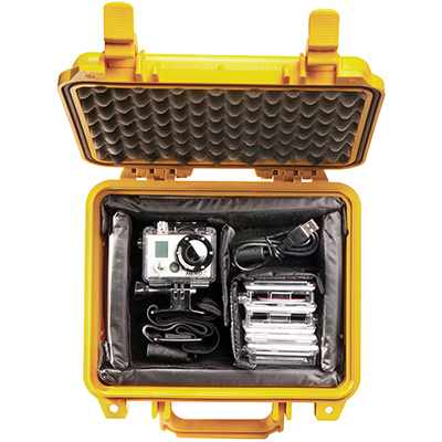 pelican 1200 gopro waterproof hard case