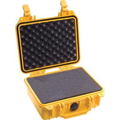 pelican 1200 yellow camera case