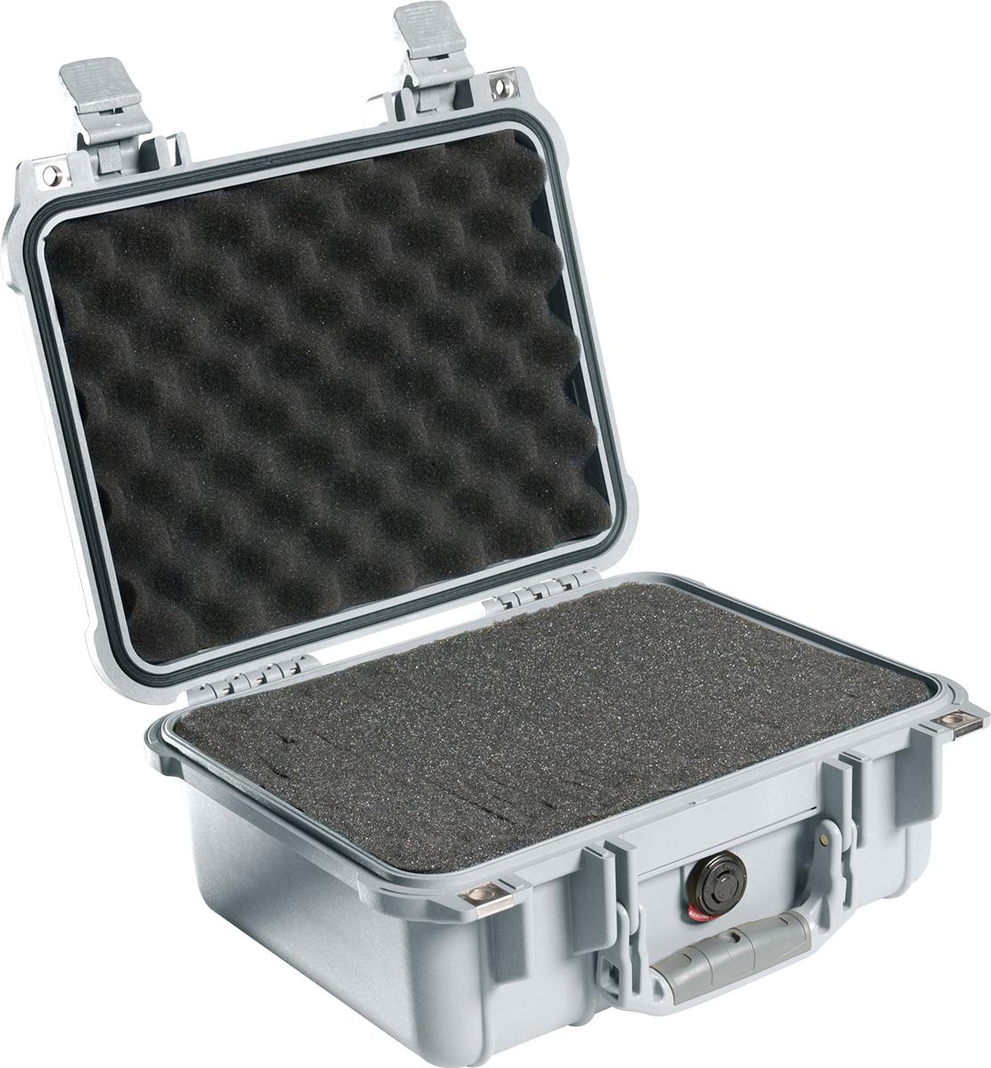 pelican 1400 silver protector rugged case
