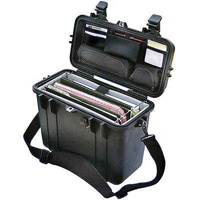 pelican peli products 1430 top loading document hard case