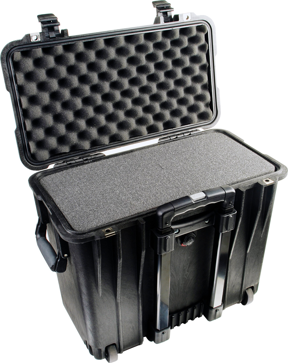 pelican 1440 black top loader foam case