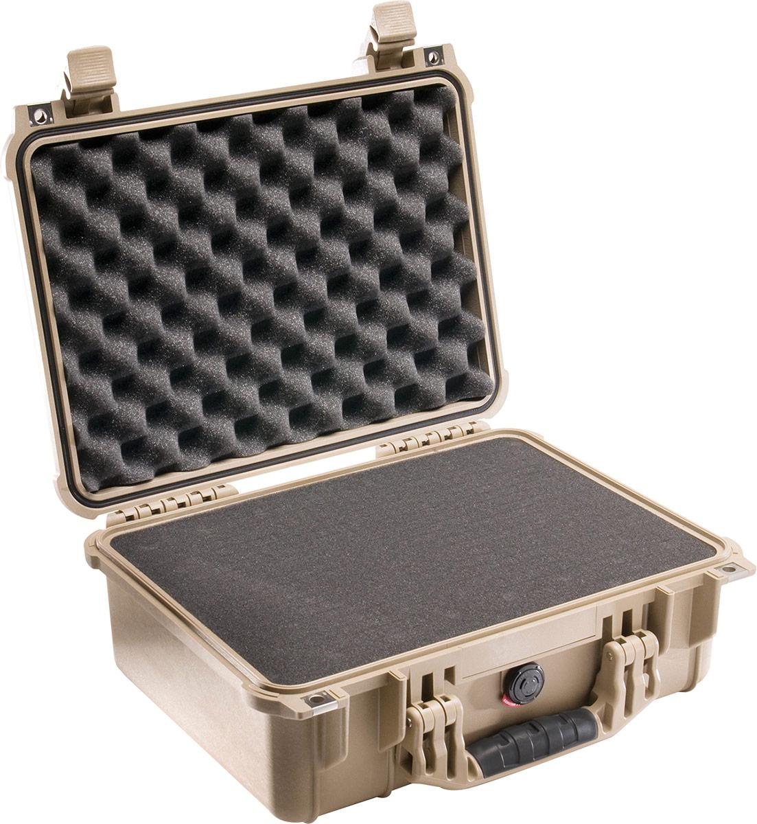 pelican 1450 desert tan protector case
