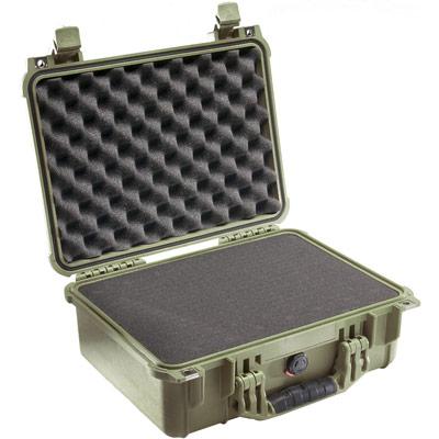 pelican 1450 green camera protector case