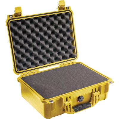 pelican 1450 yellow foam tool case