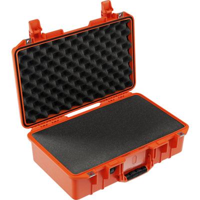 pelican air 1485 orange foam travel case