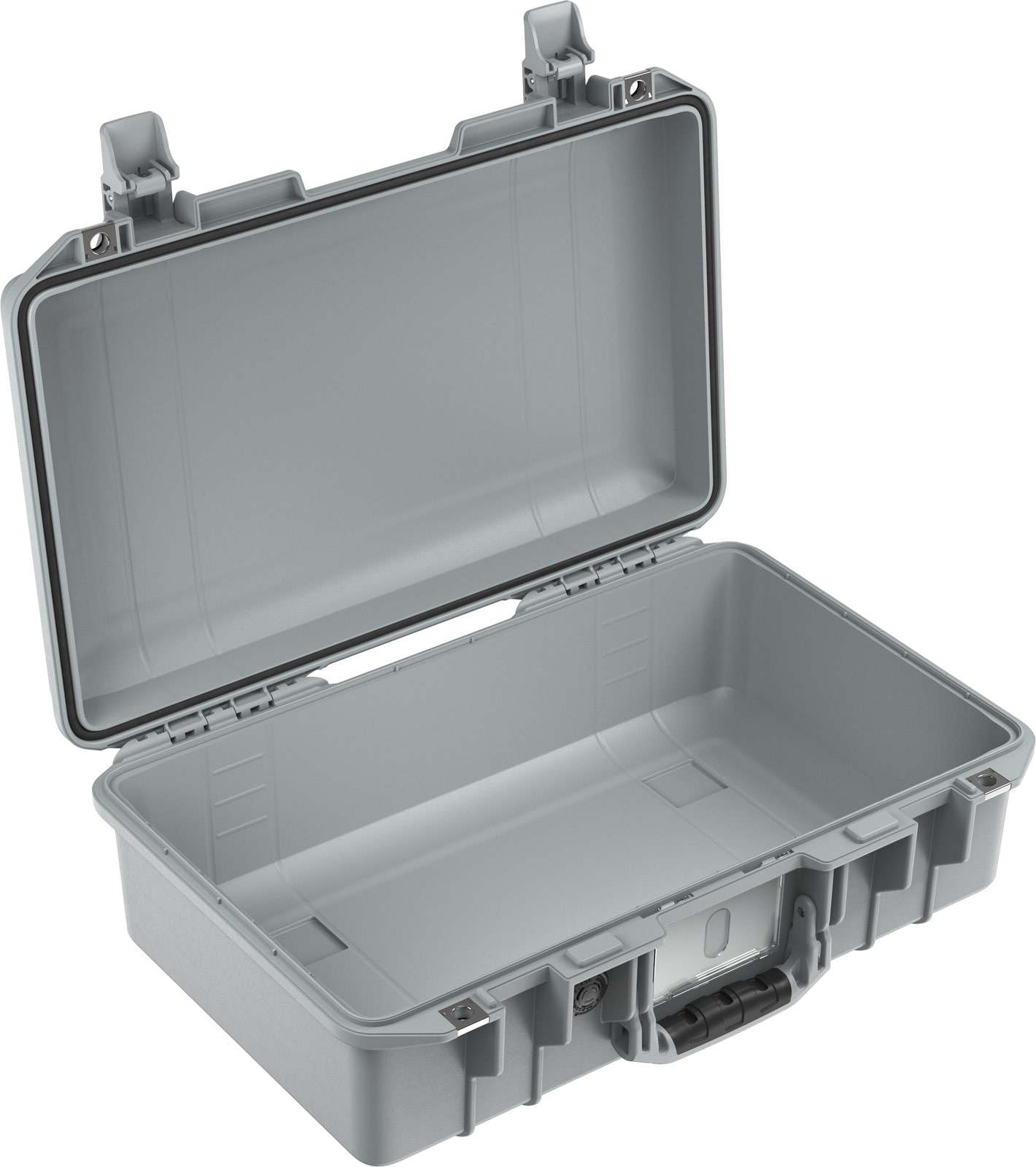 pelican air 1485 silver carry on case