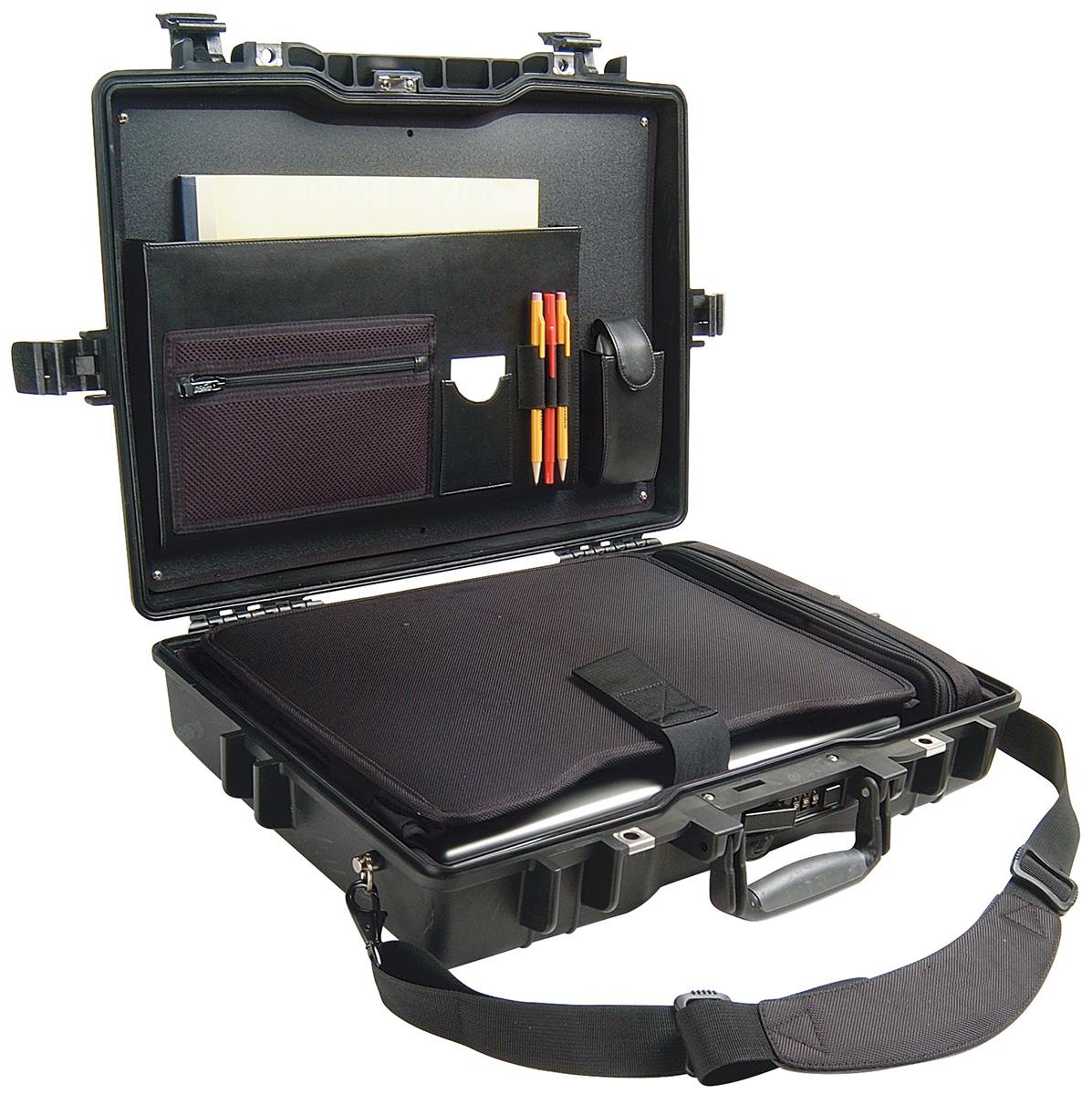 pelican secure laptop travel computer case