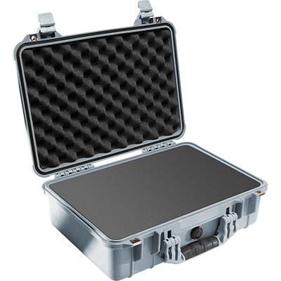 pelican 1500 silver watertight case