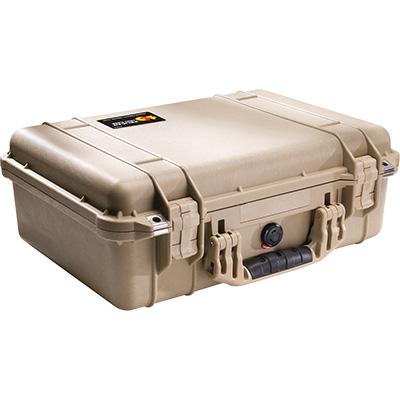 pelican 1500 tan photographer case