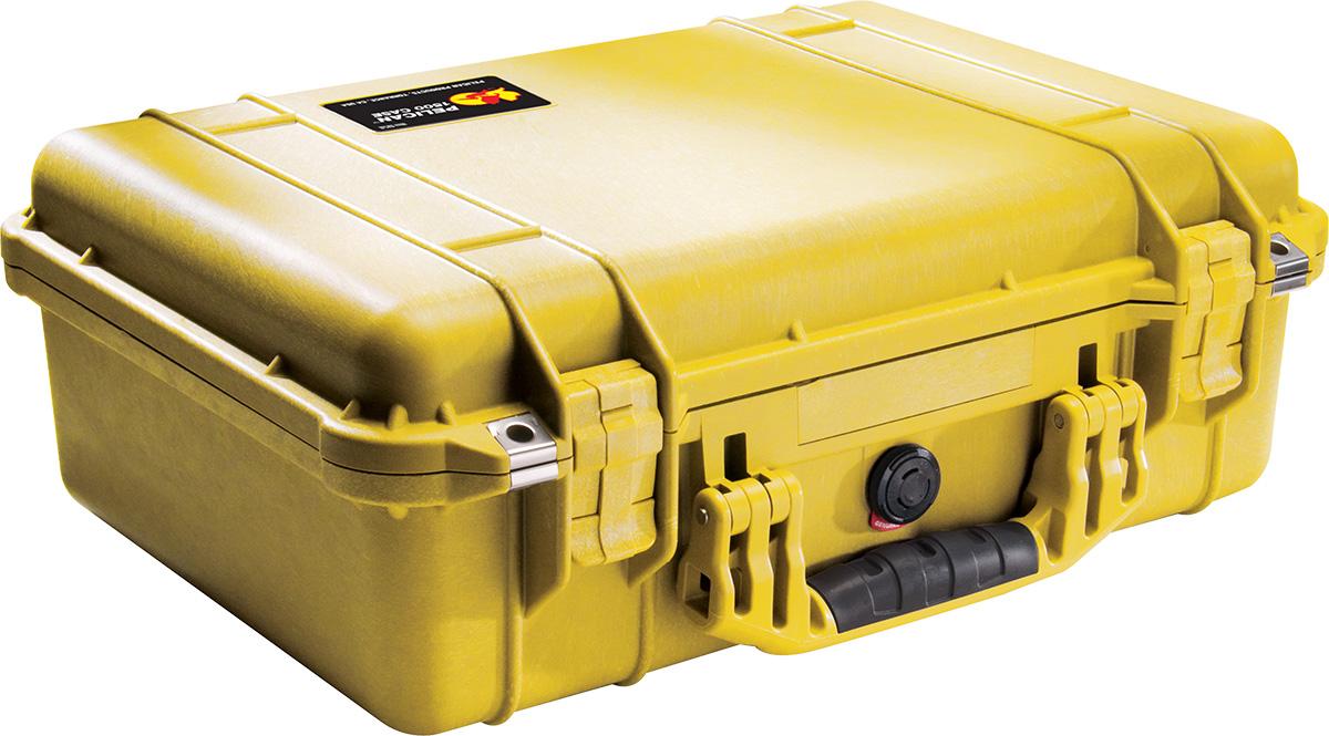 pelican 1500 yellow camera case