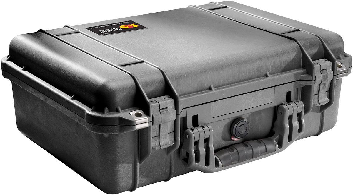 pelican waterproof lens photographer case
