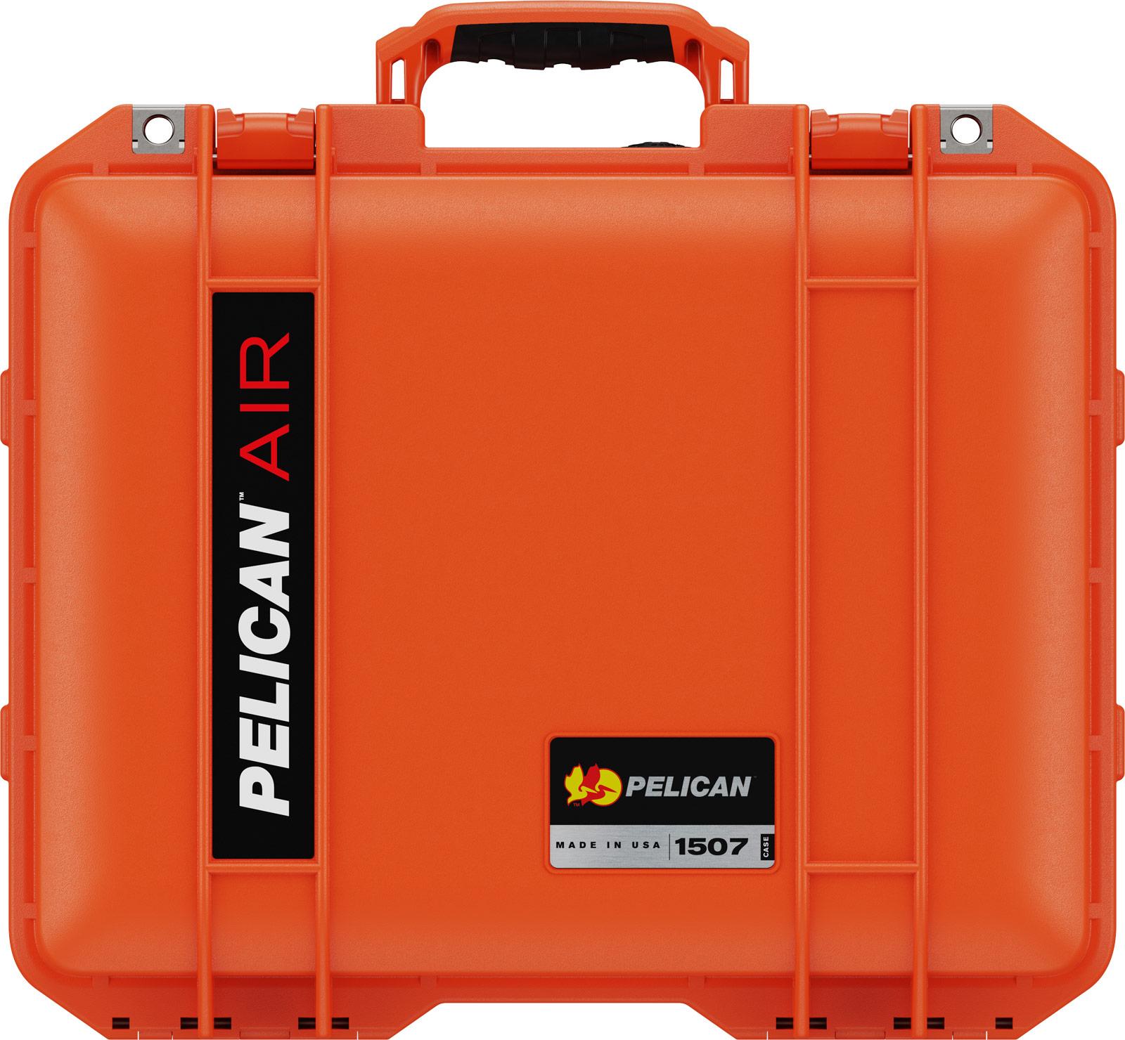 pelican 1507 orange protective case