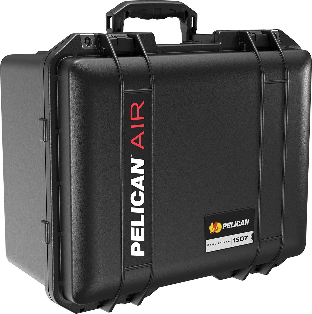 pelican air 1507 black watertight case