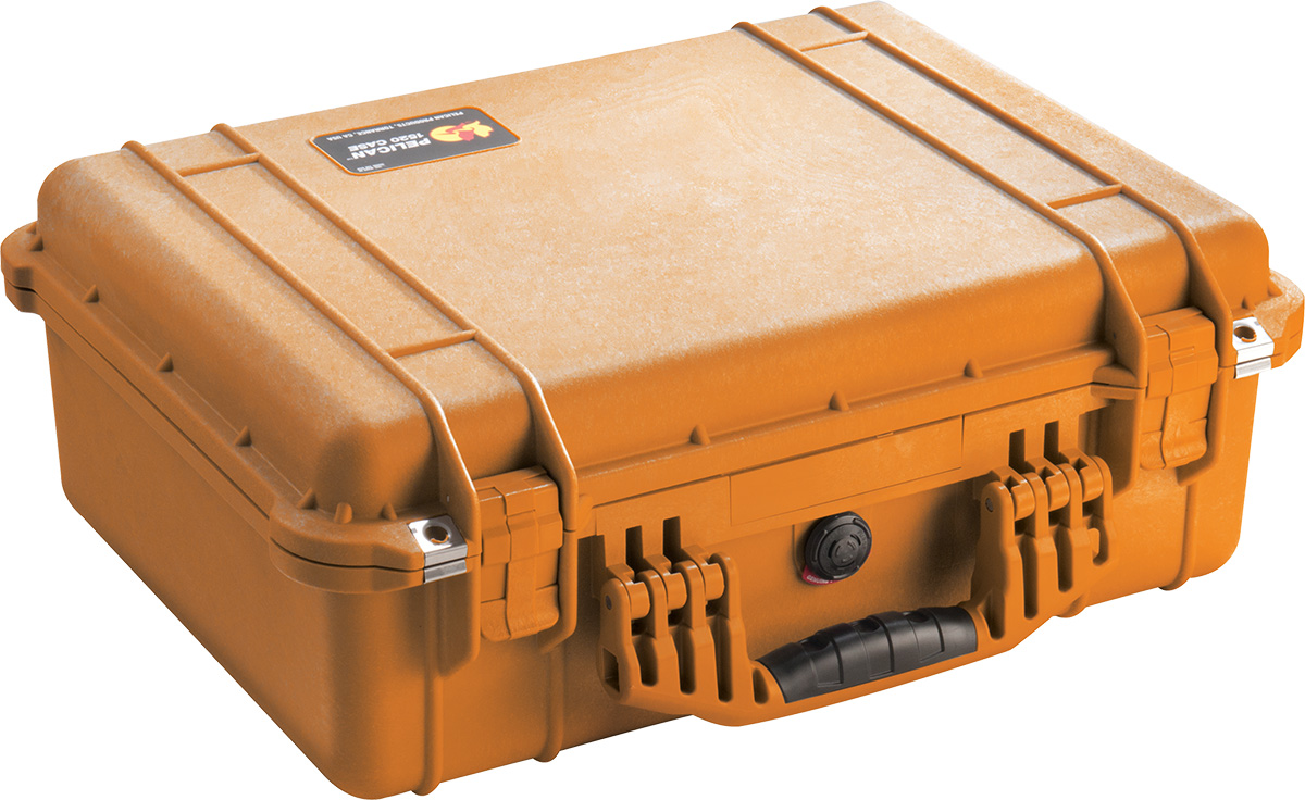 pelican 1520 orange watertight case