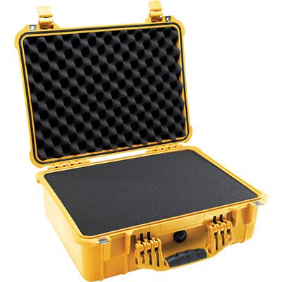 pelican 1520 yellow foam dustproof case