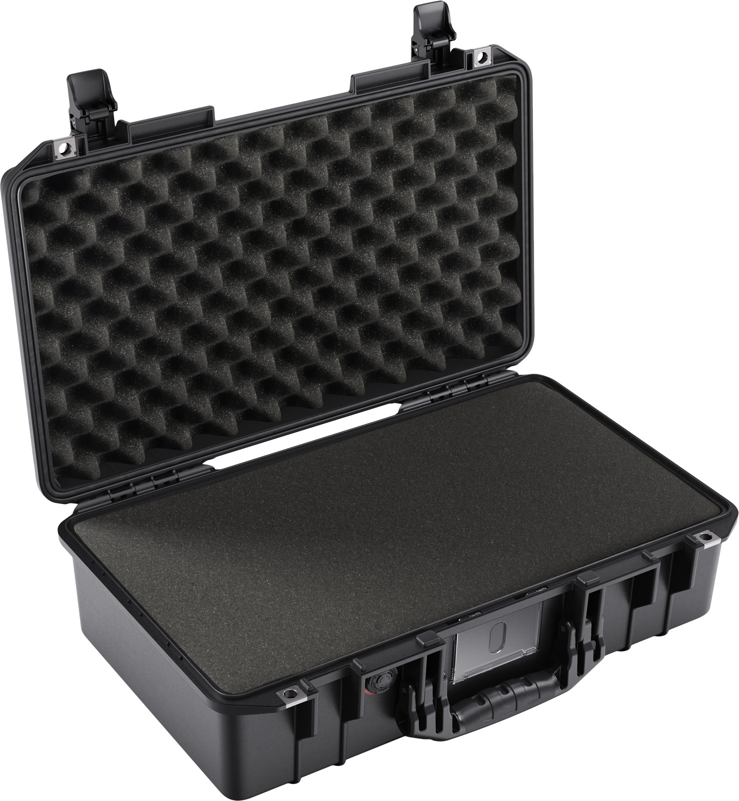pelican 1525 air foam black laptop case