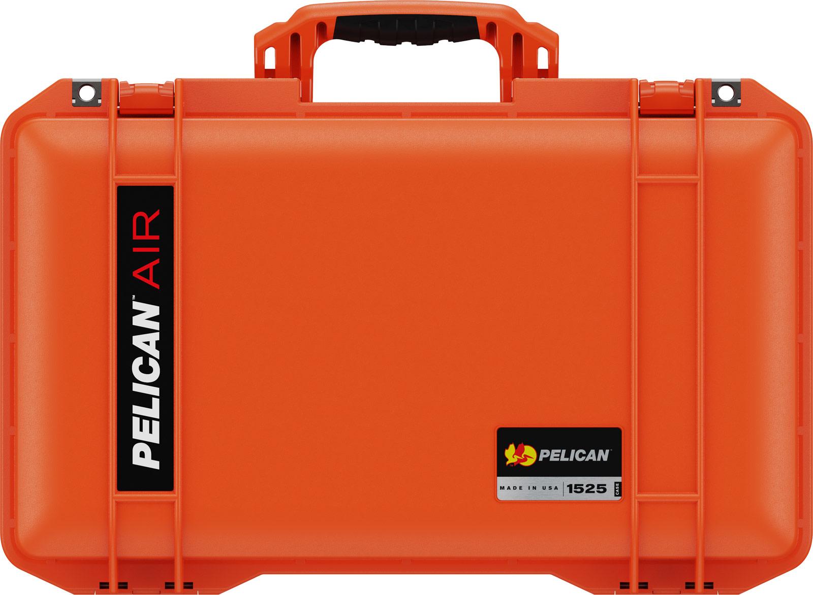 pelican orange air case 1525 waterproof case