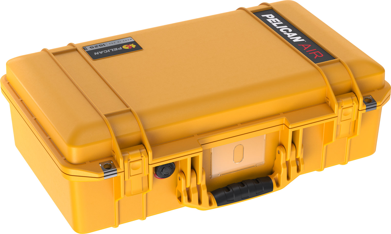 pelican yellow camera case air hard cases