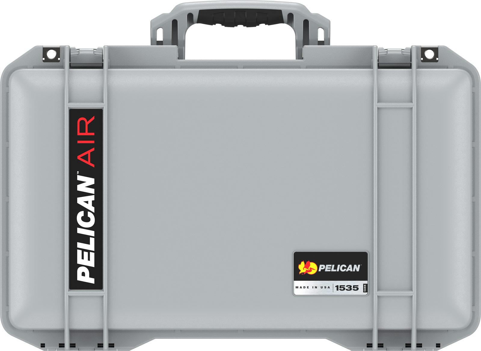 pelican 1535 air silver travel case