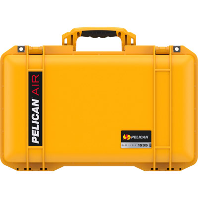 pelican 1535 air yellow carry on case