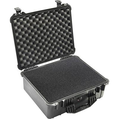 pelican 1550 black crushproof foam case