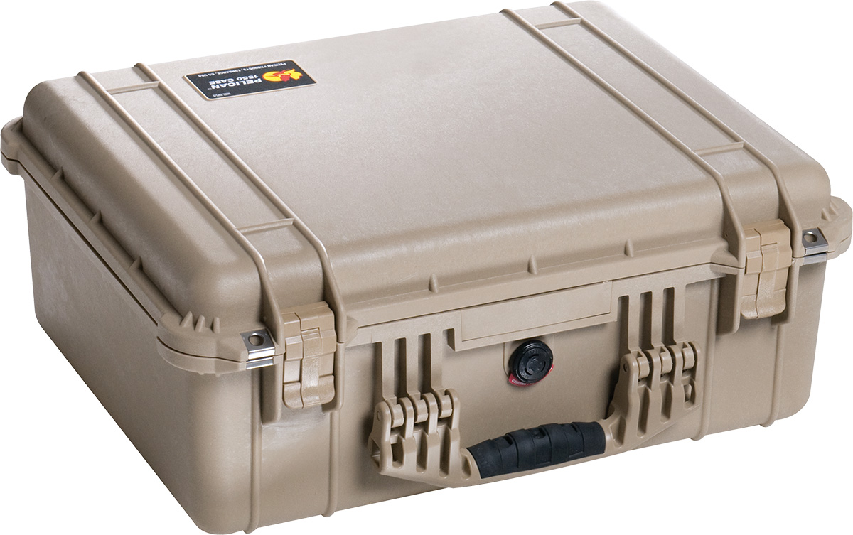 pelican 1550 dustproof camera case