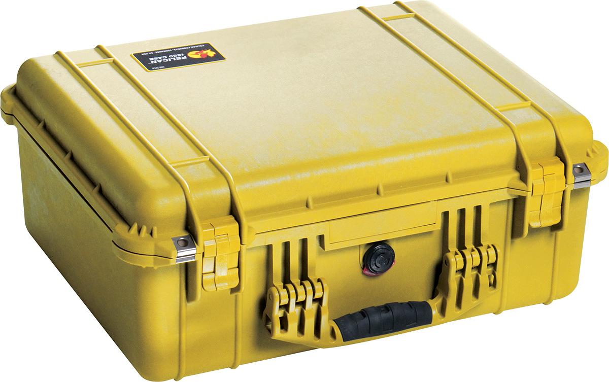 pelican 1550 watertight camera case