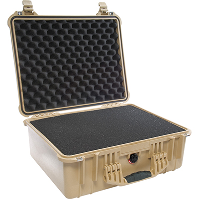 pelican 1550 foam padded camera case