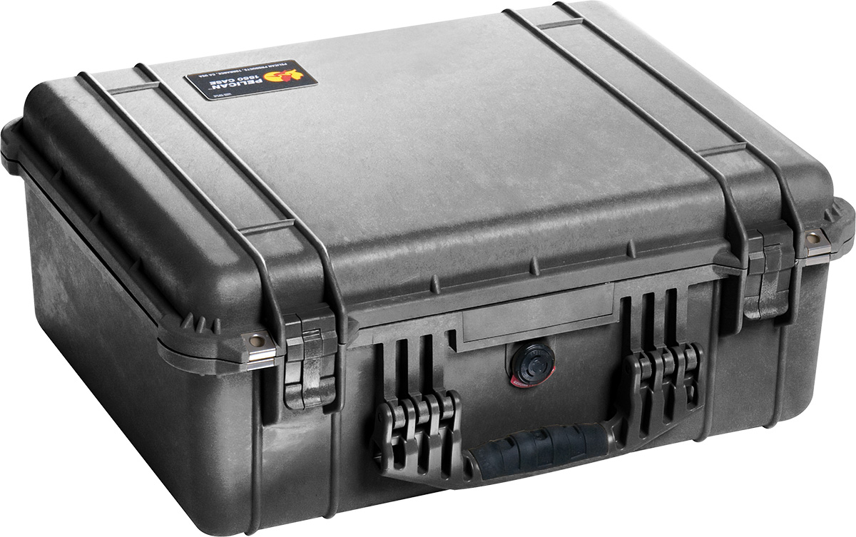 pelican 1550ems black watertight case