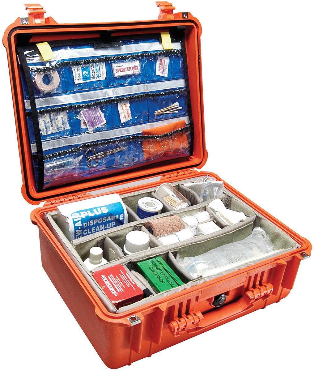 pelican medical emt first aid case