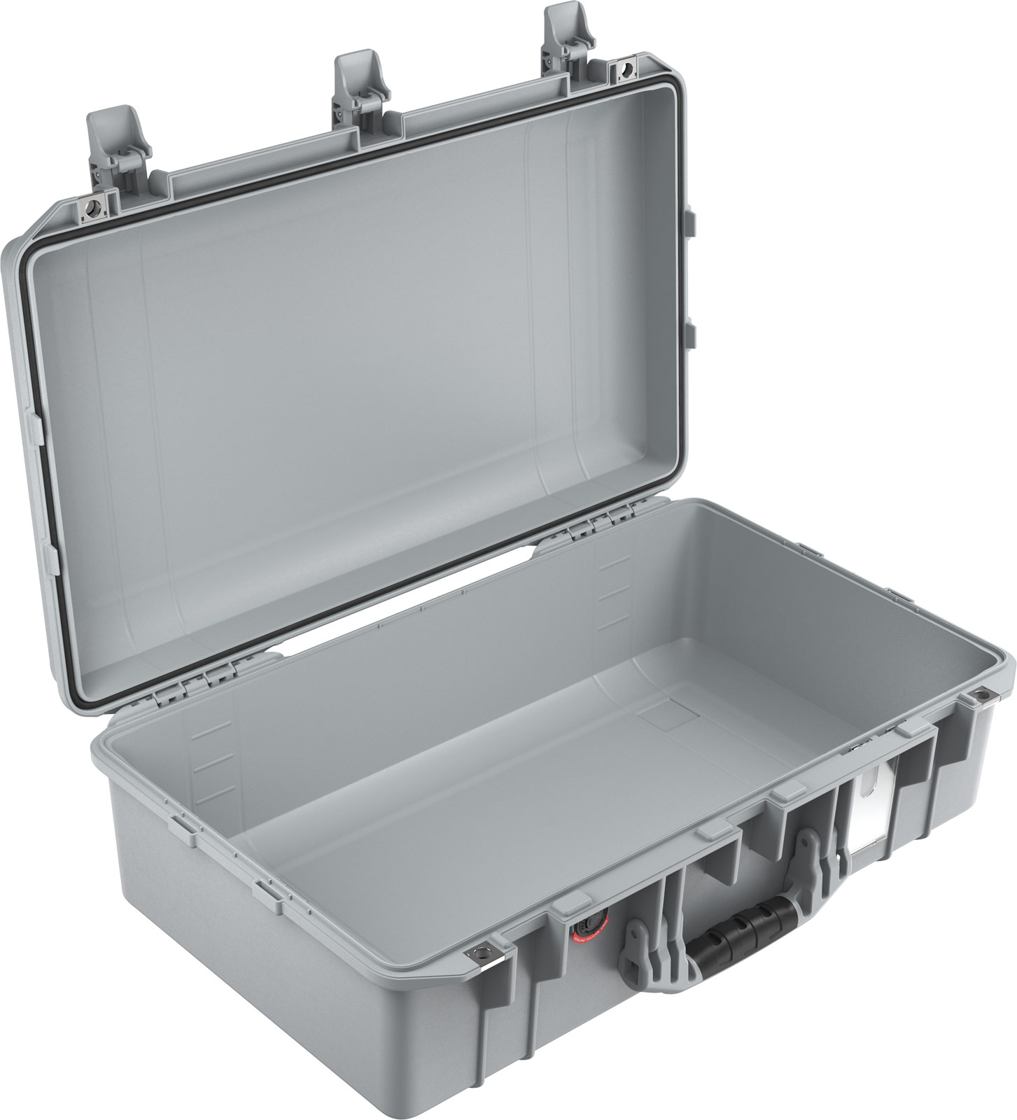 pelican air 1555 watertight silver photo case