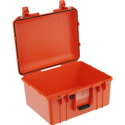 pelican 1557 air orange no foam crushproof case