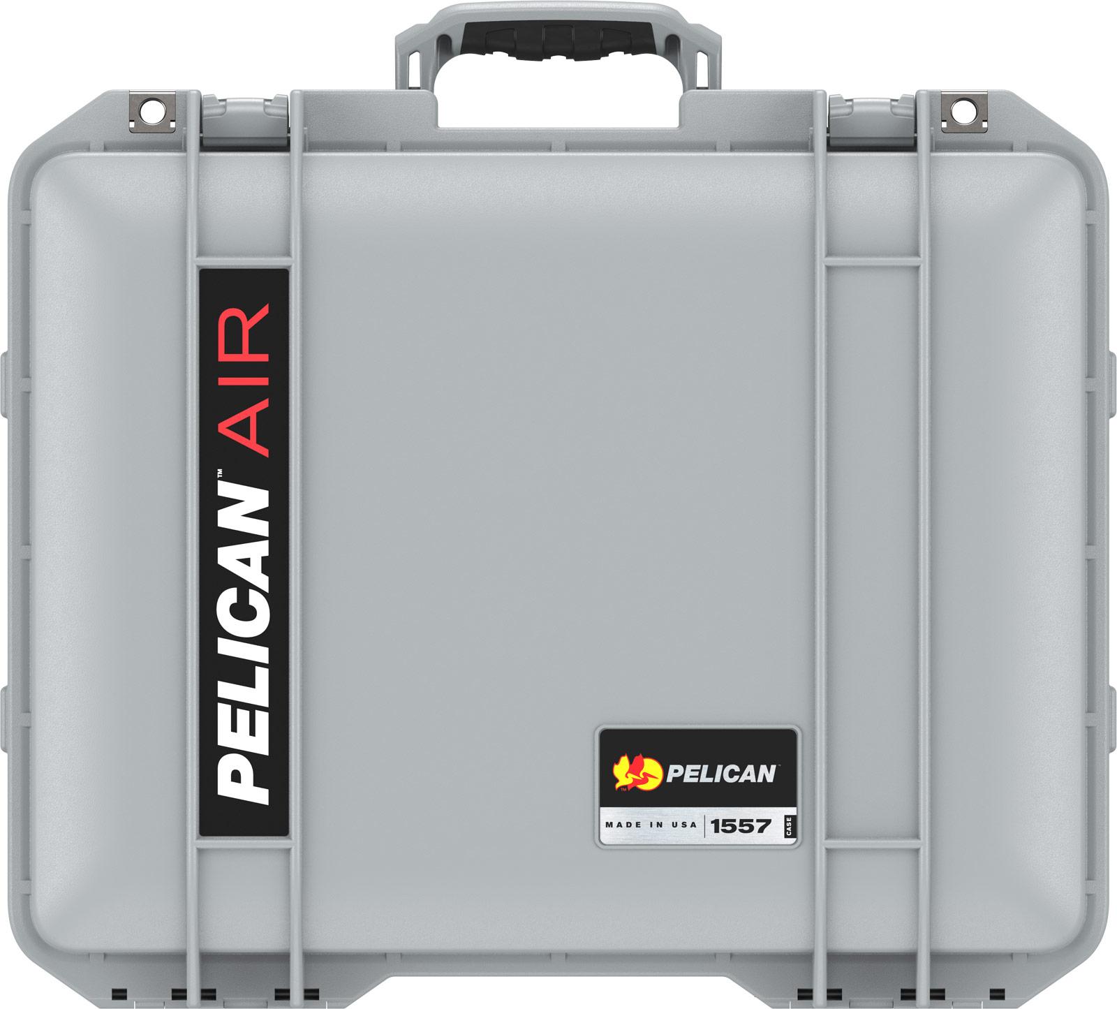 pelican 1557 silver case with foam
