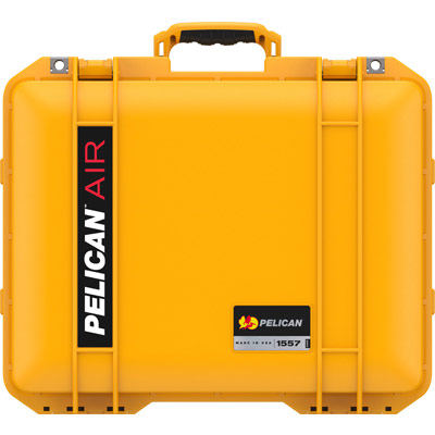 pelican 1557 yellow durable quality case