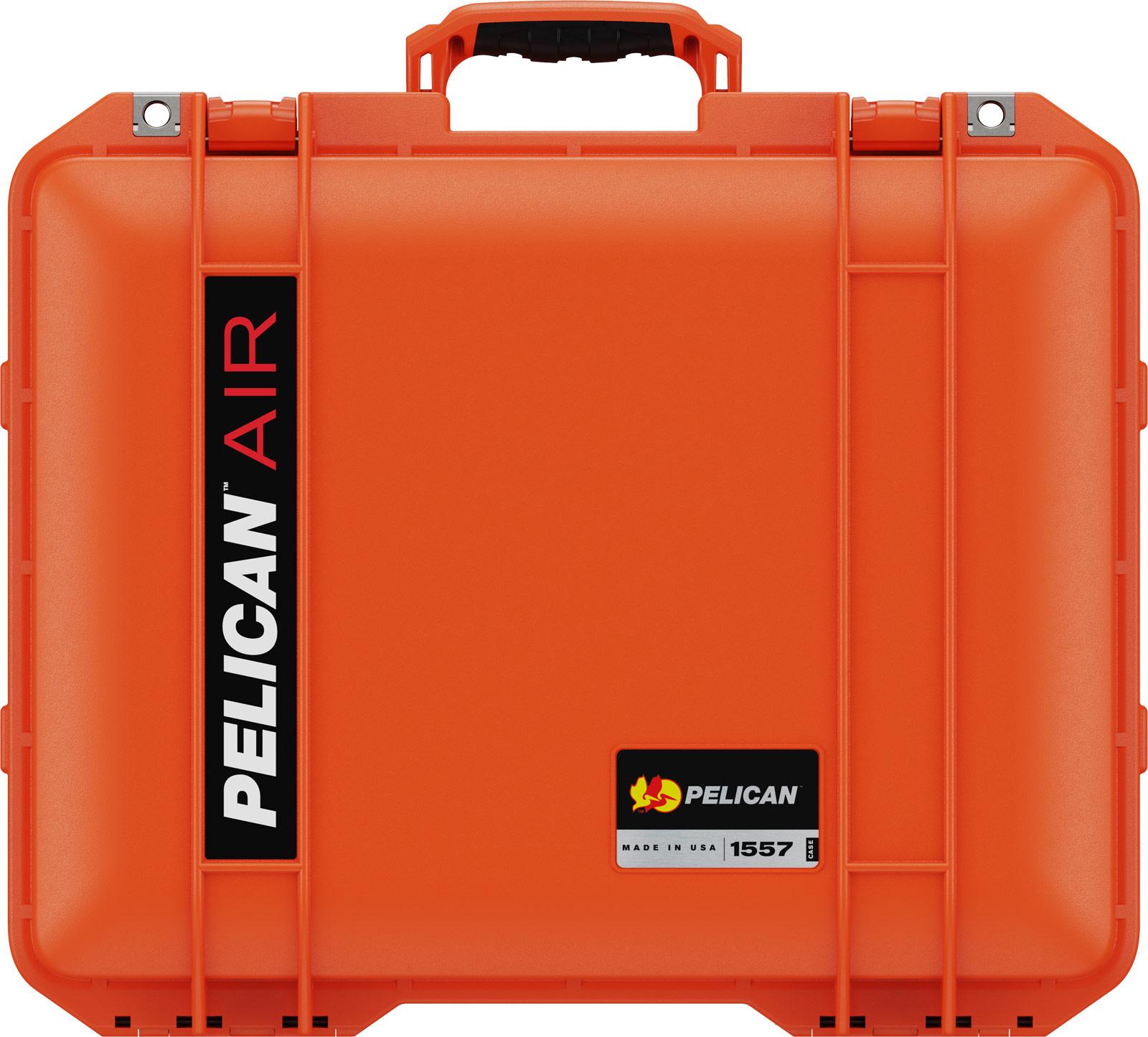 pelican deep orange 1557 air case